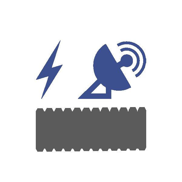 Canalización eléctrica y telecomunicación