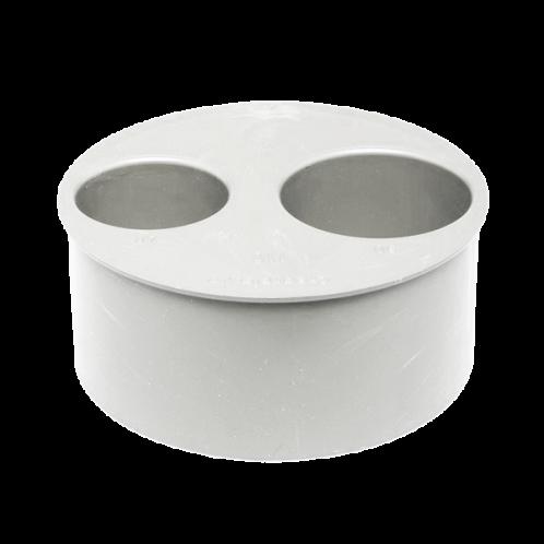 Tapón reducido doble PVC insonorizado