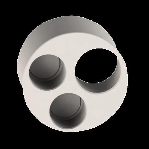 Tapón reducido triple PVC insonorizado