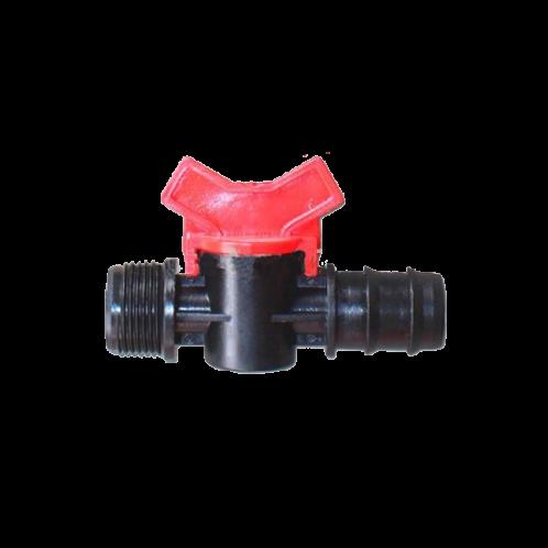 Válvula tubo/rosca macho riego