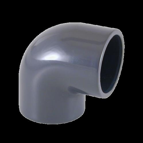 Codo presión PVC encolado