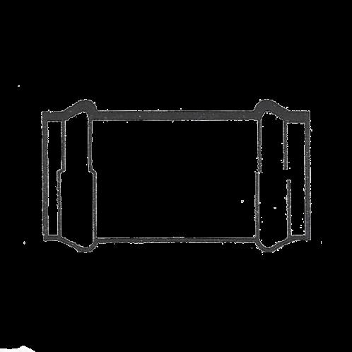 Manguito doble copa PVC presión manipulado