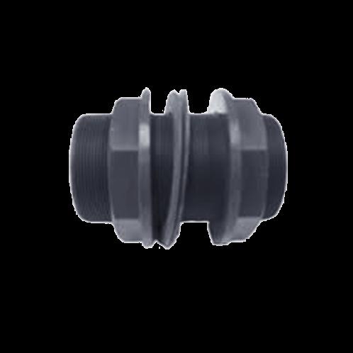 Pasamuros PVC rosca