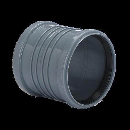 Manguito PVC dilatación junta elástica